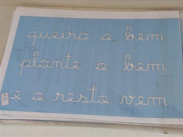 STENCIL VAN BORA 28X19 QUEIRA O BEM