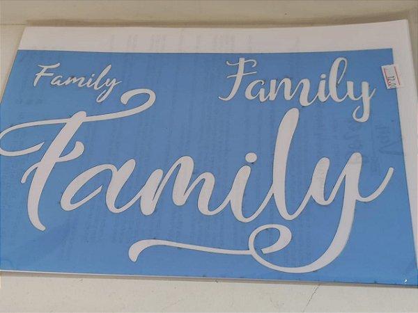 STENCIL VAN BORA 28X19 FAMILY