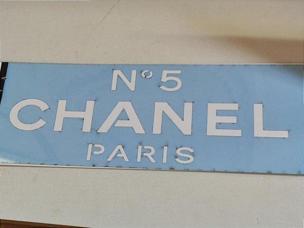 STENCIL VAN BORA 28X10 CHANEL PARIS