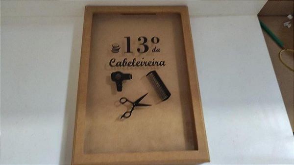COFRE VIDRO 13º CABELEIREIRA