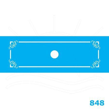 STENCIL JOIA JB 848 10X30