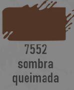 TRUE COLORS - TINTA ACRÍLICA ARTCOLORS 60ML SOMBRA QUEIMADA