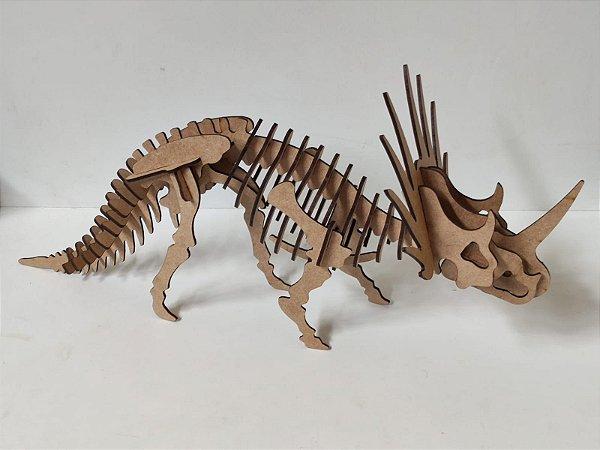STYRACOSSAURO 3D - FÓSSIL