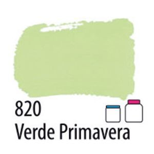 TINTA ACRÍLICA FOSCA 60ML 820 VERDE PRIMAVERA ACRILEX