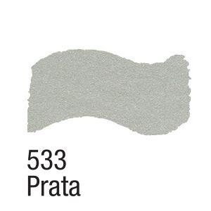 TINTA METAL COLORS 60ML ACRILEX PRATA