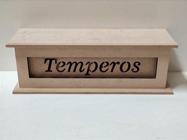 PORTA TEMPERO ESCRITO 28X10X10