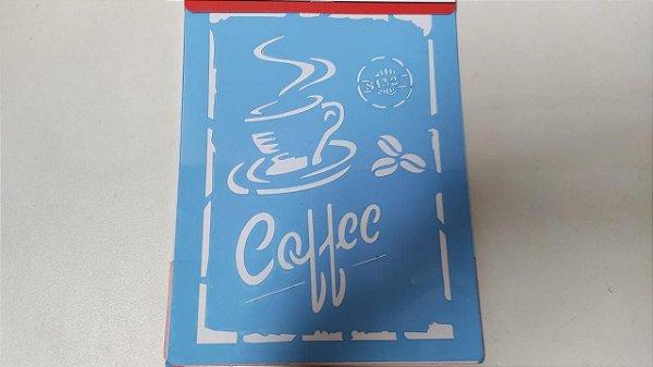STENCIL 15X20 - COFFEE