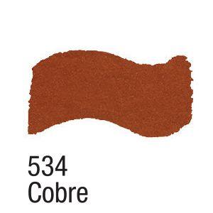 TINTA METAL COLORS 60ML ACRILEX COBRE