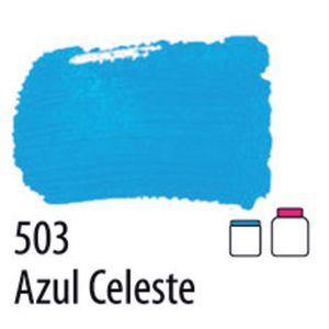 TINTA PVA FOSCA 100ML 503 AZUL CELESTE ACRILEX