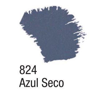 TINTA ACRÍLICA FOSCA 60ML 824 AZUL SECO ACRILEX