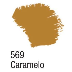 TINTA ACRÍLICA FOSCA 60ML 569 CARAMELO ACRILEX