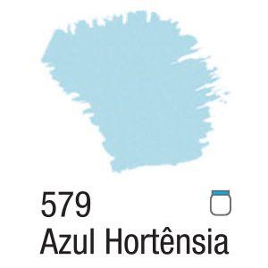TINTA ACRÍLICA FOSCA 60ML 579 AZUL HORTENSIA ACRILEX
