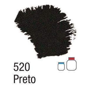 TINTA ACRÍLICA FOSCA 60ML 520 PRETO ACRILEX