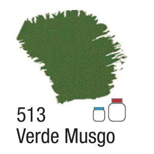 TINTA ACRÍLICA FOSCA 60ML 513 VERDE MUSGO ACRILEX