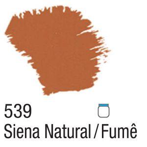 TINTA ACRÍLICA FOSCA 60ML 539 SIENA NATURAL/FUME ACRILEX