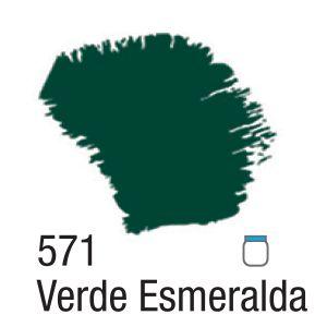 TINTA ACRÍLICA FOSCA 60ML 571 VERDE ESMERALDA ACRILEX