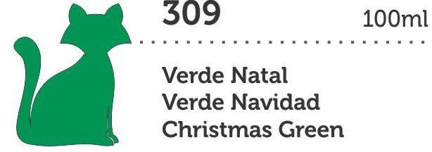 TINTA METAL MEGA PVA 100ML VERDE NATAL GATO PRETO