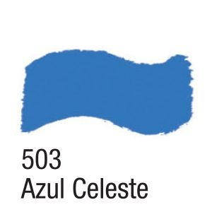 TINTA ACRÍLICA BRILHANTE 100ML 503 AZUL CELESTE ACRILEX