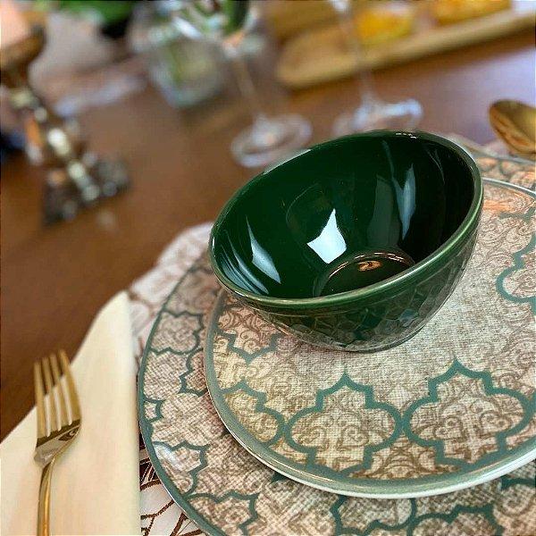 Bowl Porcelana Linen 12 cm - Oiti Casa