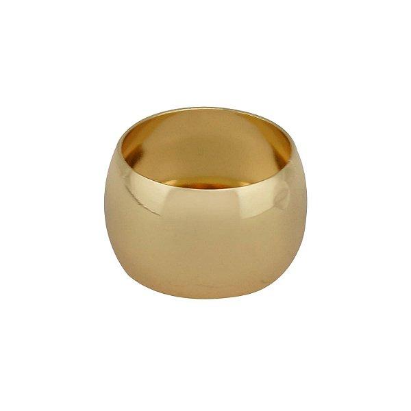 Conjunto Anéis Guardanapo de Aço Alliance Dourado