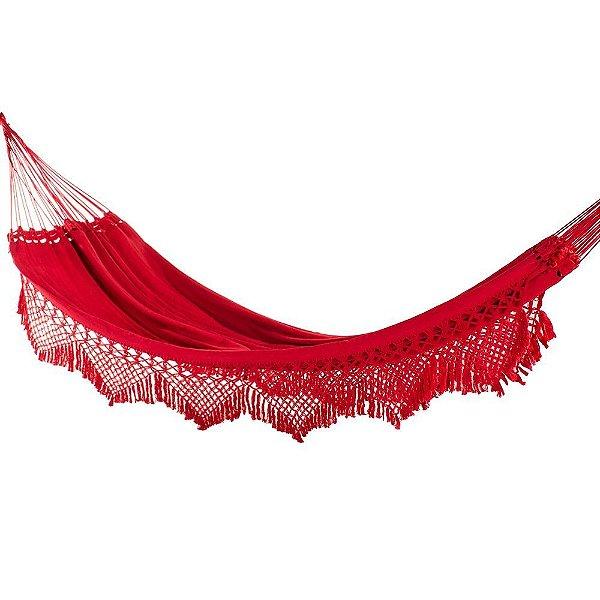 Rede Casal Luxo Vermelha