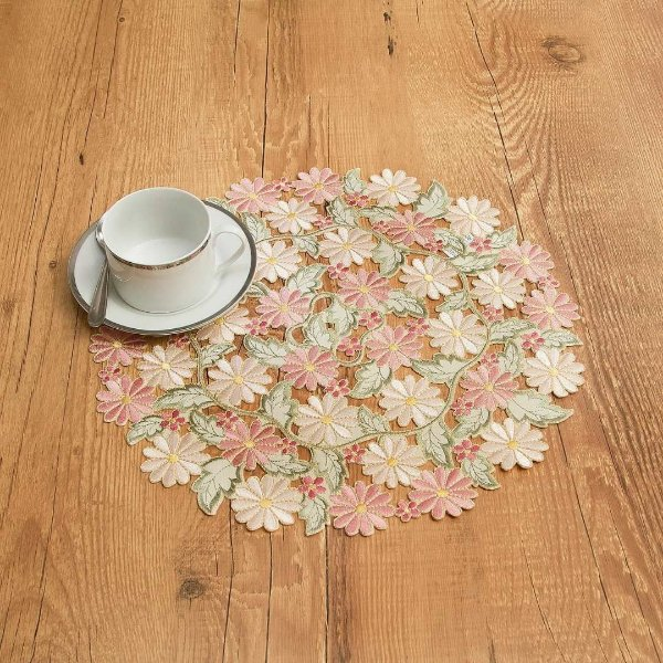 Sousplat Luxo Floral