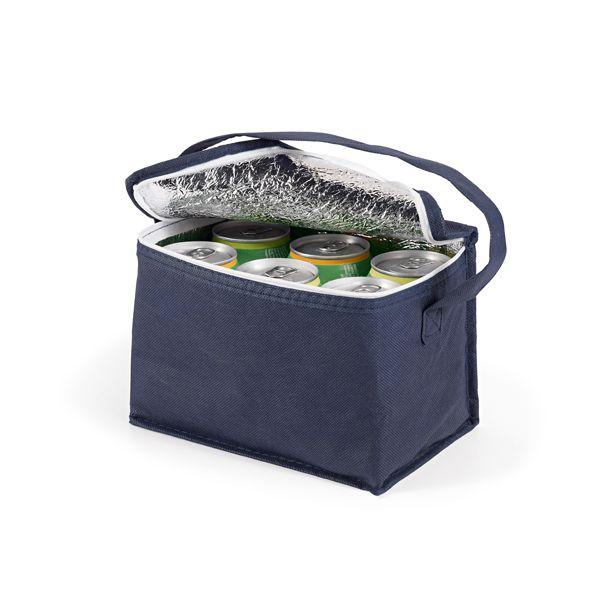 Bolsa térmica em Non-woven: 80 g/m². Capacidade até 3 litros