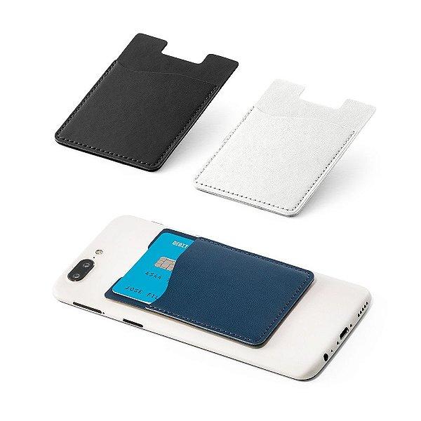 Porta cartões em PU personalizado e com Tecnologia de bloqueio RFID.