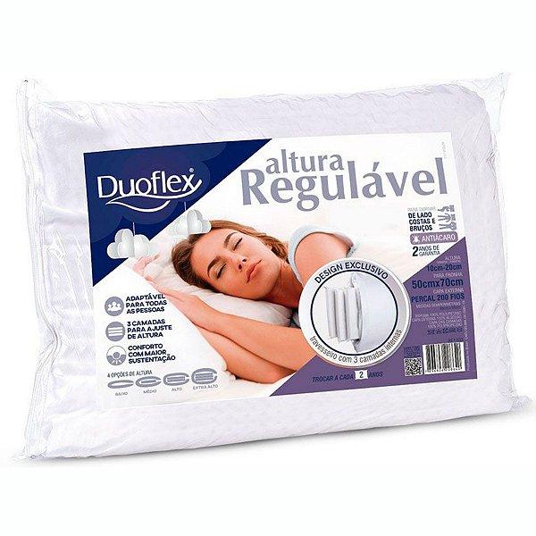 Travesseiro de Espuma Altura Regulável 50X70X20 Duoflex