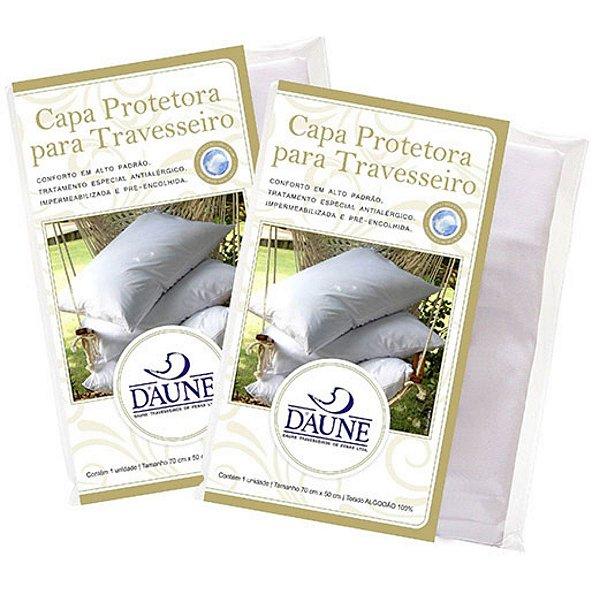 Capa travesseiro Protetora impermeável 2 unidades 50X70