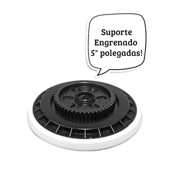 "SUPORTE ENGRENADO 5"" P/  POLITRIZ EXS KERS"