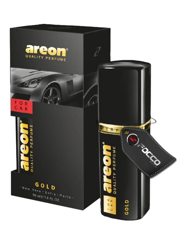 FOR CAR GOLD 50ML AREON