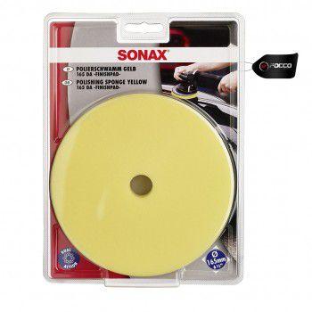 Boina de Espuma c/ Furo Amarela 6'' Sonax