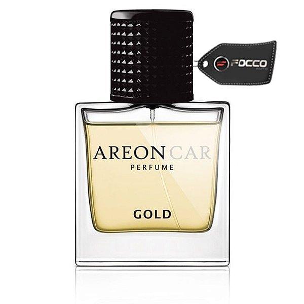 ARO CAR PERFUME 50ML GOLD AREON
