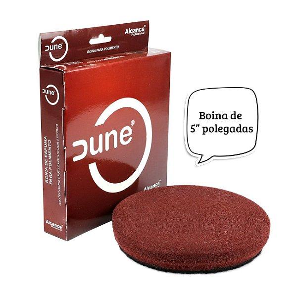 "BOINA DE ESPUMA ROXA 5"" DUNE"