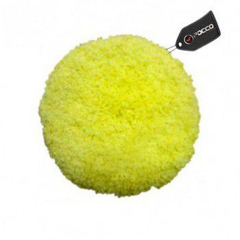 Boina de Lã Dupla Face 8'' Amarela Authentic