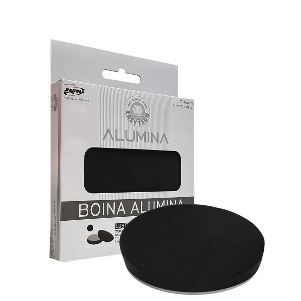 """Boina De Espuma Preta 6"""" Alumina Easytech"""
