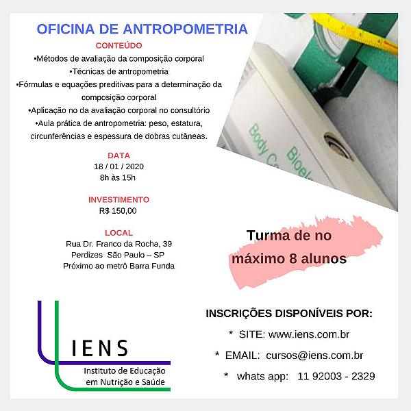 Oficina de antropometria