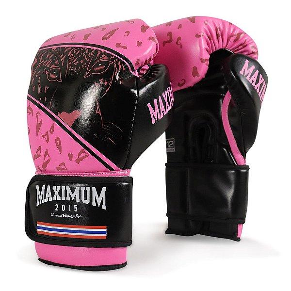 Luva de Boxe e Muay Thai Maximum Panther