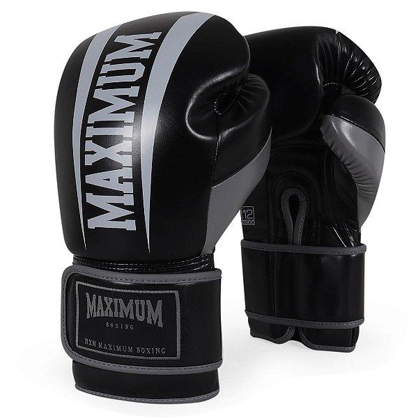 Luva de Boxe e Muay Thai Action Preta