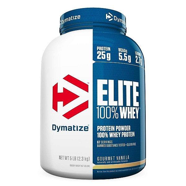 Elite 100% Whey Protein (5Lbs/2.270G) - Dymatize