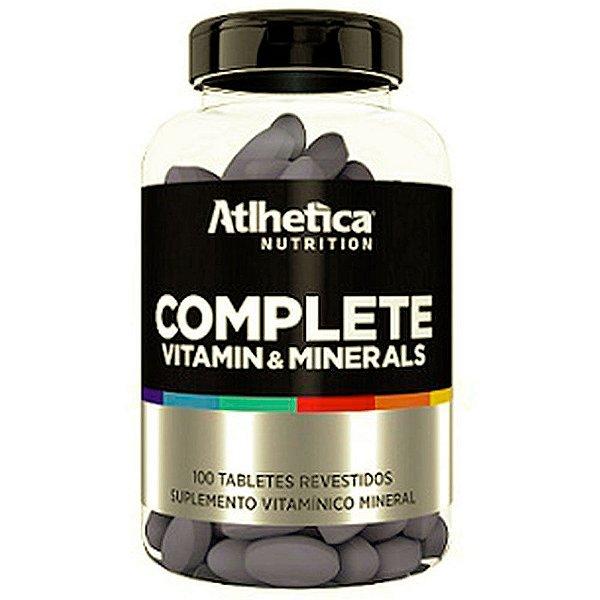 COMPLETE MULTI-VIT (100CAPS)- ATLHETICA