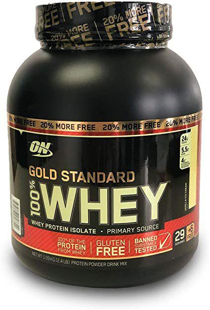 WHEY GOLD STANDARD 1,09 KG - OPTIMUM NUTRITION