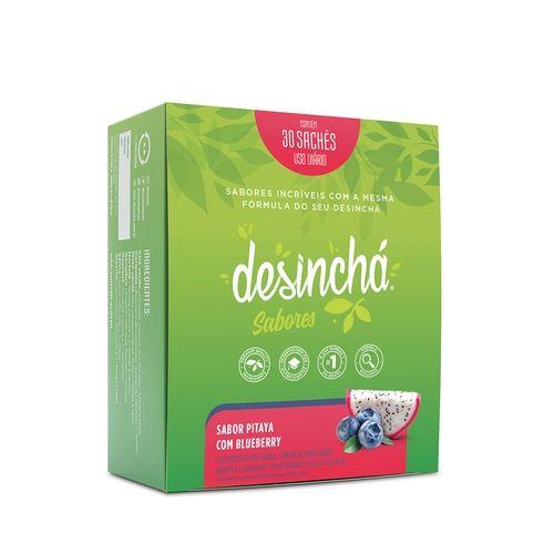 Desincha sabores Pitaya com blueberry - caixa 30 saches
