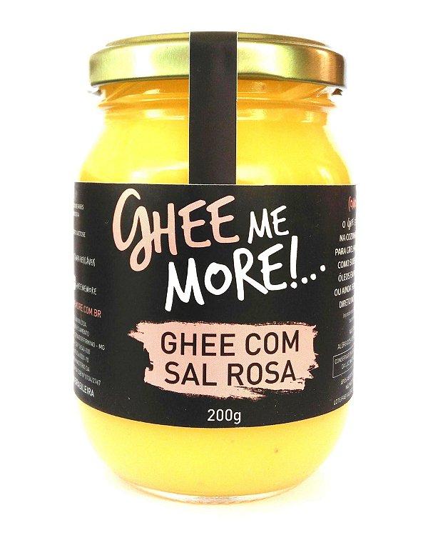 Ghee Me More 200g Sal Rosa Pote