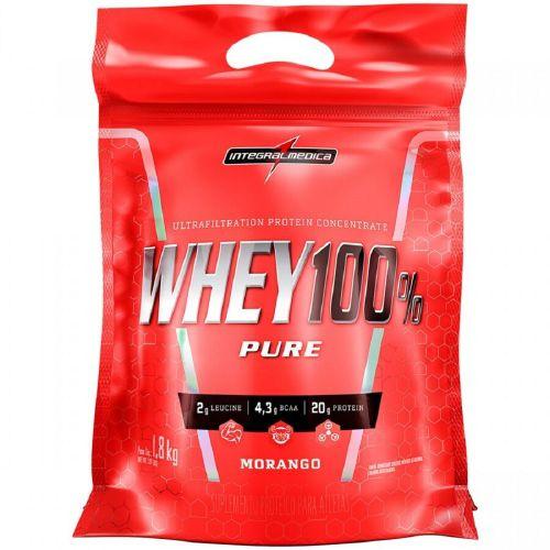 Whey 100% Pure - Refil (1,8 Kg) - Integralmédica