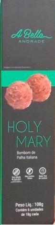 Bombom de Palha Italiana Holy Mary - Caixa com 6 unidades