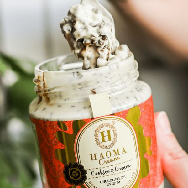 Creme Cookies & Cream - Haoma 200 gr