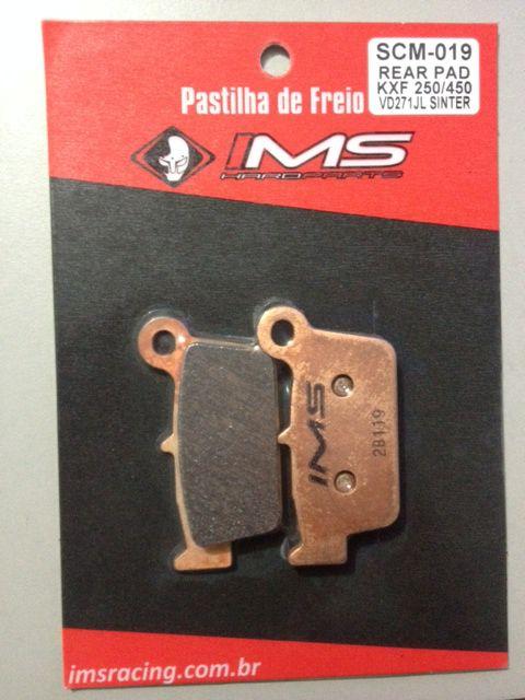 PASTILHA FREIO TRASEIRO IMS KXF/YZF