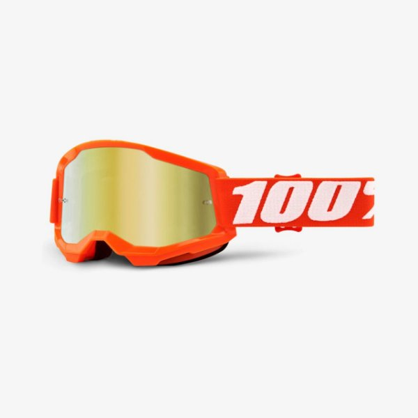 OCULOS 100% STRATA 2 ESPELHADO ORANGE